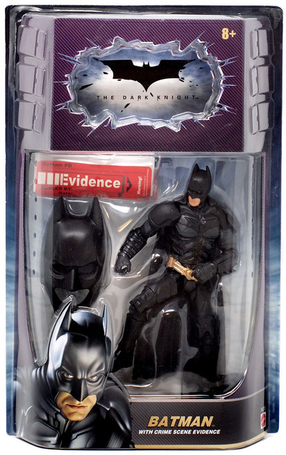 The Dark Knight Crime Scene Evidence Batman Action Figure [Mask On]