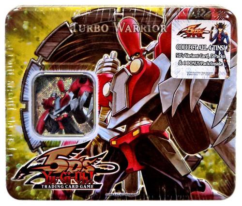 YuGiOh YuGiOh 5D's 2008 Turbo Warrior Tin Set
