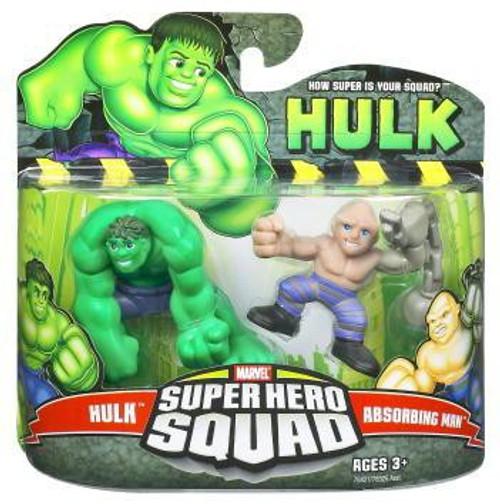 Super Hero Squad Hulk & Absorbing Man Mini Figure 2-Pack