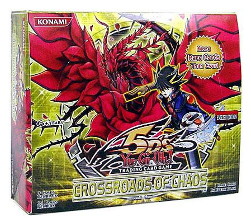 YuGiOh Trading Card Game Crossroads of Chaos Booster Box [24 Packs]