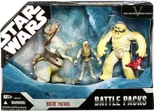 Star Wars The Empire Strikes Back Battle Packs 2008 Hoth Patrol Exclusive Action Figure Set