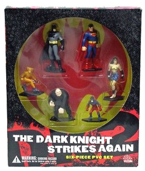 Batman The Dark Knight Strikes Again PVC Figure Set