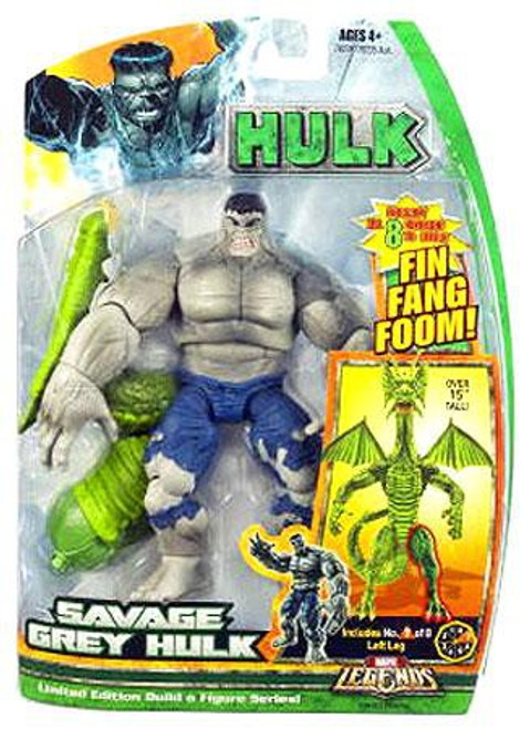 Marvel Legends Savage Grey Hulk Action Figure
