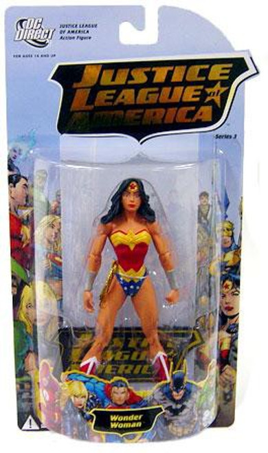 DC Justice League of America Series 3 Wonder Woman Action Figure