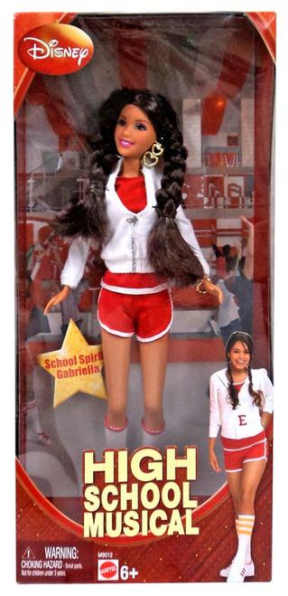 Disney High School Musical School Spirit Gabriella Doll
