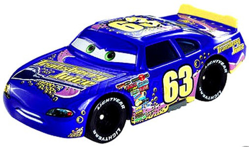 Disney / Pixar Cars Speedway of the South No. 63 Transberry Juice Exclusive Diecast Car