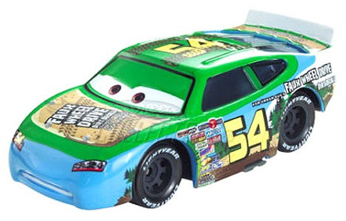 Disney / Pixar Cars Speedway of the South No. 54 Faux Wheel Drive Exclusive Diecast Car