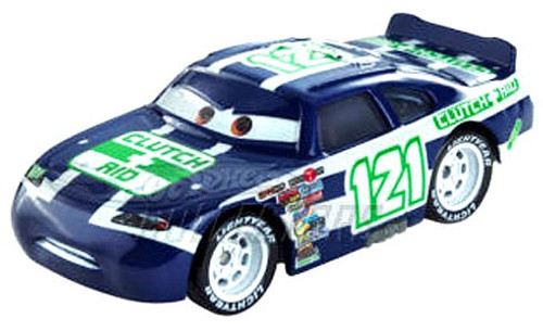 Disney / Pixar Cars Speedway of the South No. 121 Clutch Aid Exclusive Diecast Car