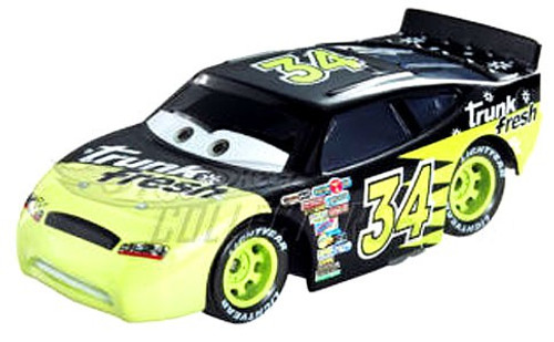 Disney / Pixar Cars Speedway of the South No. 34 Trunk Fresh Exclusive Diecast Car