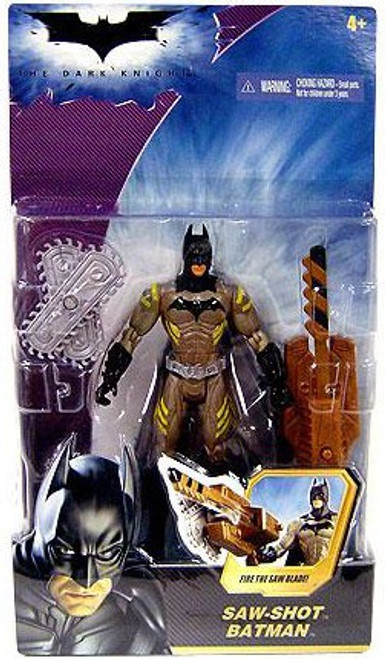 The Dark Knight Batman Action Figure [Saw Shot]