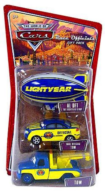 Disney / Pixar Cars The World of Cars Multi-Packs Race Officials Gift Pack Diecast Car Set