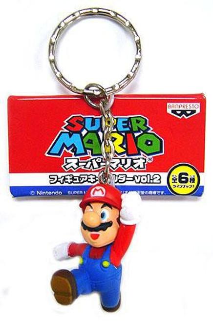 Super Mario PVC Figure Keychain Mario Keychain