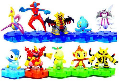 Pokemon Japanese Series 3 Set of 10 Connecting PVC Figures