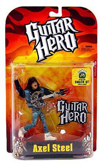 McFarlane Toys Guitar Hero Axel Steel Action Figure [Flame Shirt]