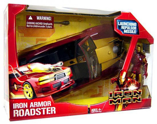 Iron Man Iron Armor Roadster Action Figure Vehicle