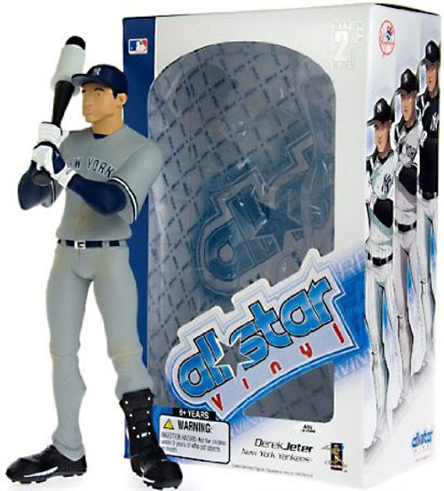MLB New York Yankees All Star Vinyl Derek Jeter Vinyl Figure [Gray Jersey]