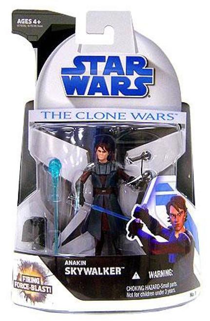 Star Wars The Clone Wars 2008 Anakin Skywalker Action Figure #1
