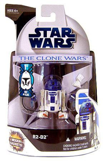 Star Wars The Clone Wars 2008 R2-D2 Action Figure #8 [First Day of Issue]