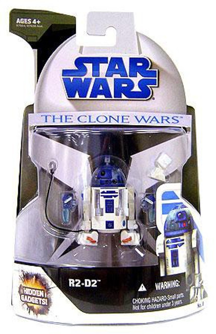Star Wars The Clone Wars 2008 R2-D2 Action Figure #8
