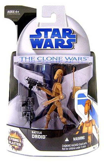 Star Wars The Clone Wars 2008 Battle Droid Action Figure #7