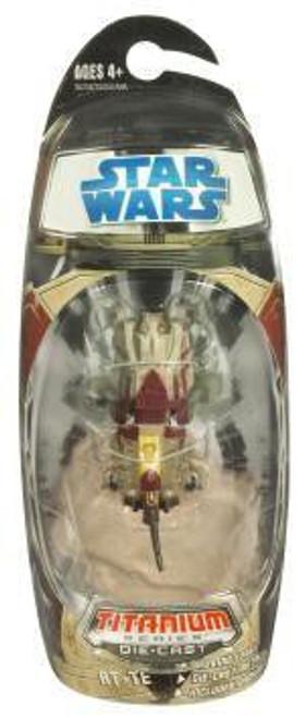 Star Wars The Clone Wars Titanium Series 2008 AT-TE Diecast Vehicle