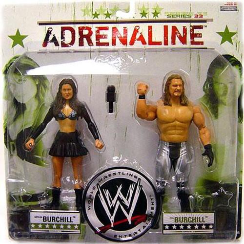 WWE Wrestling Adrenaline Series 33 Katie Lee Burchill & Paul Burchill Action Figure 2-Pack