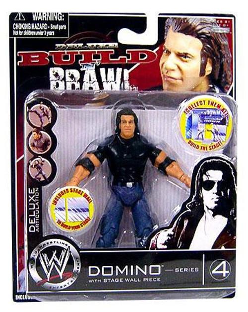 WWE Wrestling Build N' Brawl Series 4 Domino Action Figure