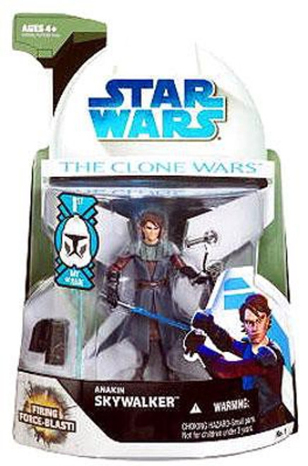 Star Wars The Clone Wars 2008 Anakin Skywalker Action Figure #1 [First Day of Issue]