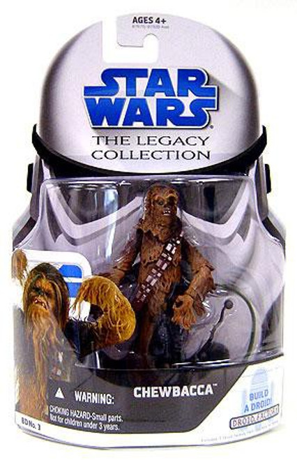 Star Wars Revenge of the Sith 2008 Legacy Collection Droid Factory Chewbacca Action Figure BD03