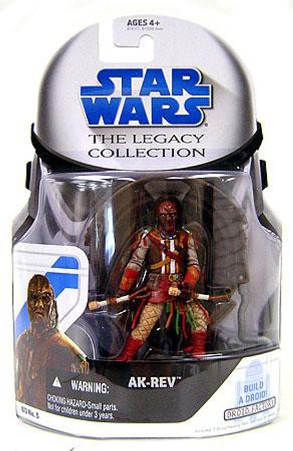 Star Wars Return of the Jedi 2008 Legacy Collection Droid Factory Ak-Rev Action Figure BD05