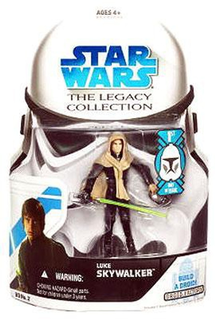 Star Wars Return of the Jedi 2008 Legacy Collection Droid Factory Luke Skywalker Action Figure BD02 [Skiff, First Day of Issue]