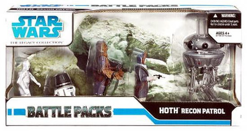 Star Wars The Empire Strikes Back 2008 Legacy Collection Recon Patrol on Hoth Exclusive Action Figure Battle Pack