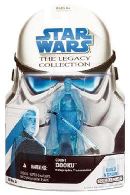 Star Wars Attack of the Clones 2008 Legacy Collection Droid Factory Count Dooku Action Figure BD21 [Hologram]