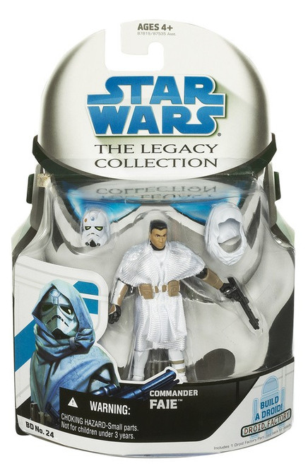 Star Wars The Clone Wars 2008 Legacy Collection Droid Factory Commander Faie Action Figure BD24
