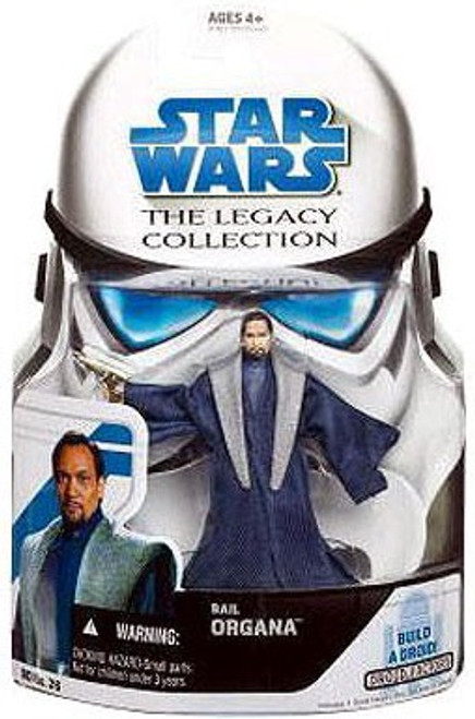 Star Wars Revenge of the Sith 2008 Legacy Collection Droid Factory Bail Organa Action Figure BD26