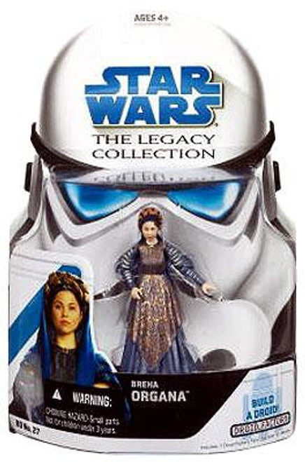 Star Wars Revenge of the Sith 2008 Legacy Collection Droid Factory Breha Organa Action Figure BD27