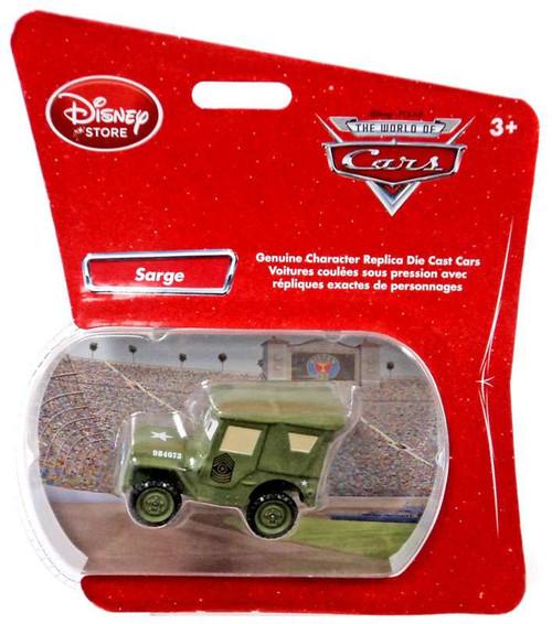 Disney / Pixar Cars 1:48 Single Packs Sarge Exclusive Diecast Car