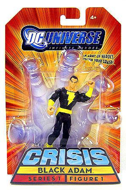 DC Universe Crisis Infinite Heroes Series 1 Black Adam Action Figure #1