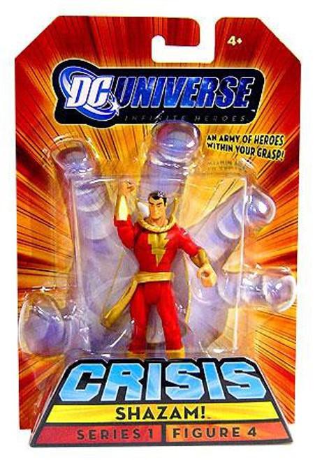 DC Universe Crisis Infinite Heroes Series 1 Shazam Action Figure #4