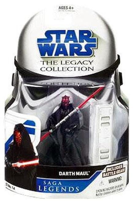 Star Wars Phantom Menace Legacy Collection 2008 Saga Legends Darth Maul Action Figure SL14