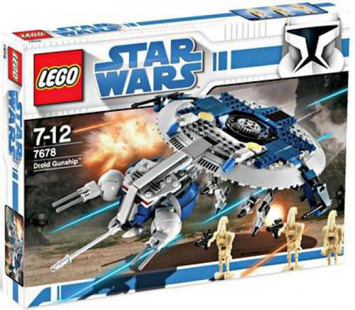 LEGO Star Wars The Clone Wars Droid Gunship Exclusive Set #7678