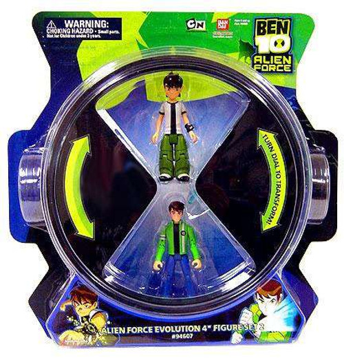 Ben 10 Alien Force Evolution Exclusive Action Figure 4-Pack [Set 1]