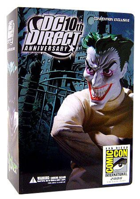 Batman 10th Anniversary The Joker Exclusive Action Figure