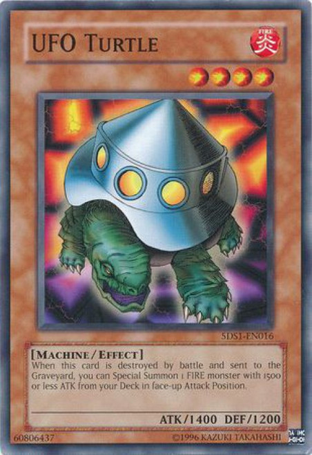 YuGiOh YuGiOh 5D's 2008 Starter Deck Common UFO Turtle #5DS1-EN016