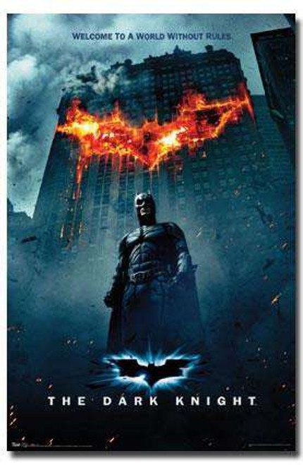 Batman The Dark Knight Movie Poster #9719 [Fire]