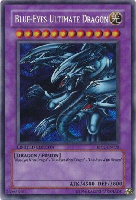 YuGiOh Retro Pack Secret Rare Blue-Eyes Ultimate Dragon RP01-EN000