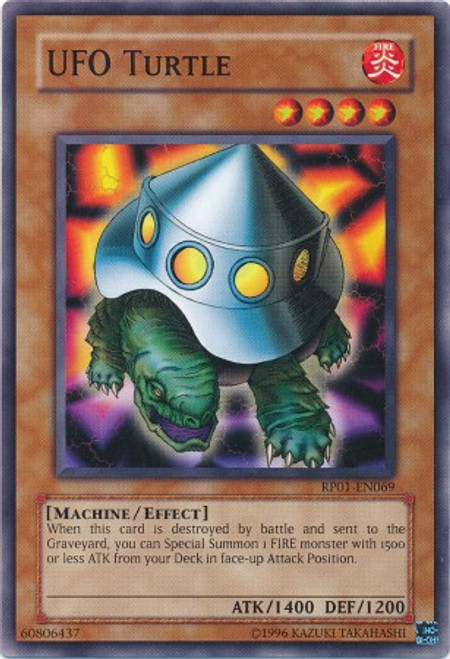 YuGiOh Retro Pack Common UFO Turtle RP01-EN069