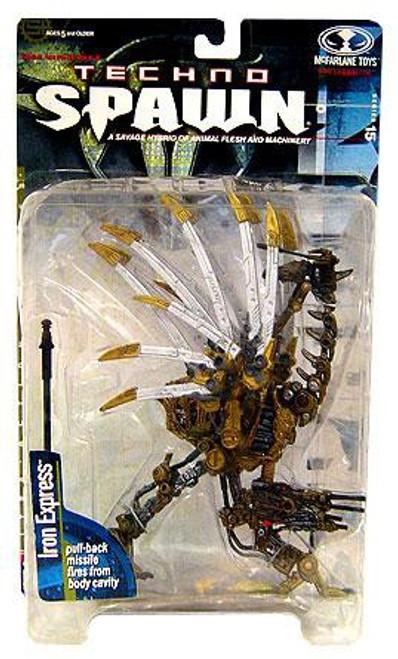 McFarlane Toys Series 15 Techno Spawn Iron Express Action Figure