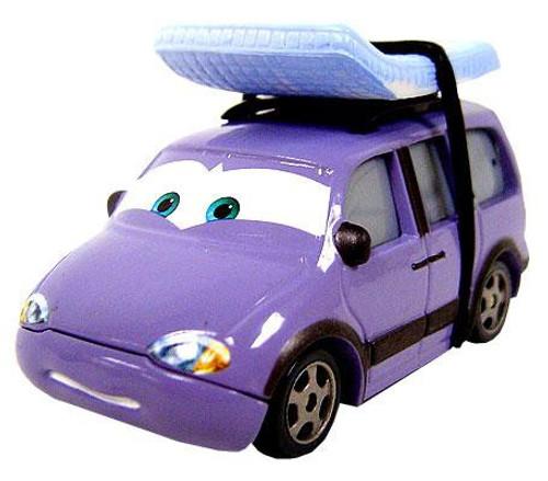 Disney / Pixar Cars Leroy Traffik Diecast Car [Loose]