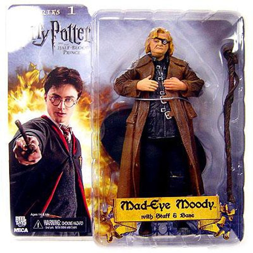 NECA Harry Potter The Half Blood Prince Mad Eye Moody Action Figure